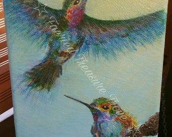 Fly High - Original Acrylic Painting Art PRINT