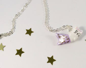 Purrmaid Necklace - Cat Necklace - Animal Jewellery