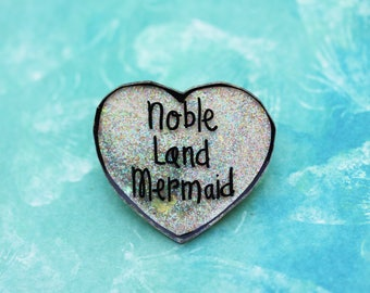 SALE Believe in Magic Collection - Sparkly Noble Land Mermaid Pin