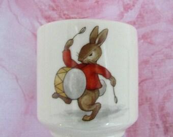 1968-1975 Royal Doulton Bunnykins Bone China Egg Cup (Made in England)