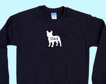 "French Bulldog ""DAD"", Crewneck Sweatshirt"