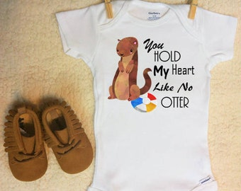 Otter Onesie ®,  Otter Baby, Otter Baby Clothes, Otter Outfit, Otter Themed Gift, Otter Gift, Otter Baby Gift