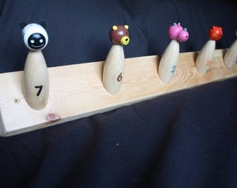 Children's Hooks - Animal Skittles