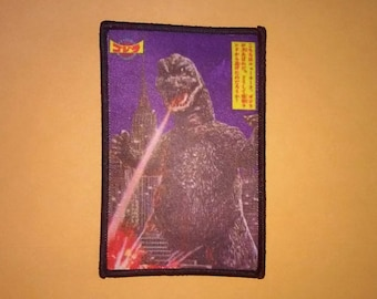 GODZILLA PATCH - Gojira, Kaiju movie monster
