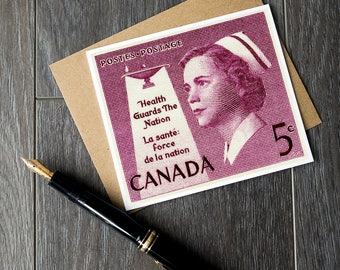 canada nurse birthday card, nursing student graduation card, nurse thank you cards, nursing profession retirement cards, canadian nursing