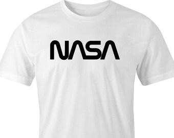 Nasa  space agency logo print t-shirt, nasa print t-shirt, Space Agency T-Shirt, Nasa Space Agency Print T-Shirt, Space Agency T-Shirt..