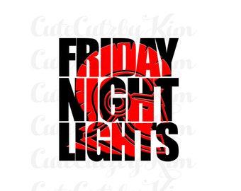 Friday Night Lights Trojan svg, dxf, jpg, cricut file, silhouette file, cutting file