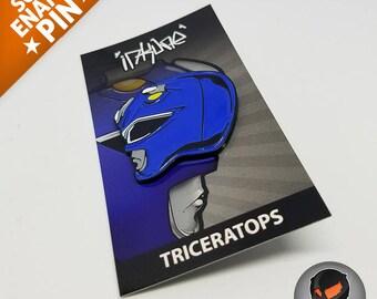 """Triceratops """"Soft Enamel Pin"""""""