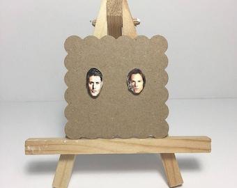 "Sam & Dean Winchester- ""Supernatural"" | Stud Earrings"