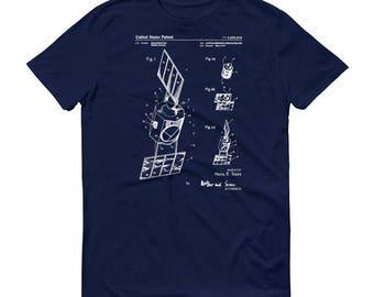 1971 Communication Satellite Patent T Shirt - Satellite T-Shirt, Astronaut Shirt, Space T-Shirt, Spacecraft T-Shirt, Space Exploration Shirt