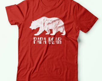 Gift for Dad | Papa Bear Shirt | Husband Gift | New Dad Gift | Father Gift | Papa Gift | Papa Bear T-Shirt | Daddy Gifts | Mama Bear | S146