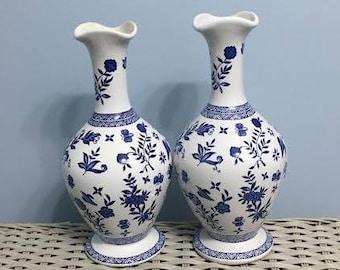 Coalport Vase Set