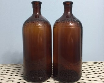 Antique Clorox Bleach Bottles