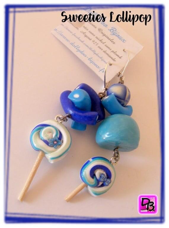 Boucles d'oreilles [Sweeties Lollipop]