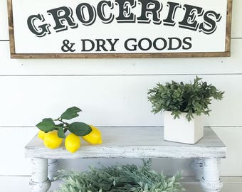 Groceries & Dry Goods - SVG
