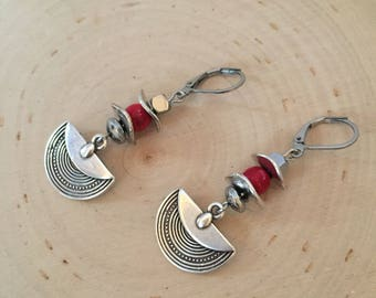 Model Edessa - earrings-earrings