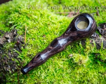 Blackwood collection, Pipe, Wood Pipe, wooden pipe, smoking pipe, unique pipe, cool pipe, stash pipe, pipe,
