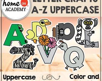 Alphabet Letters Craft Activity