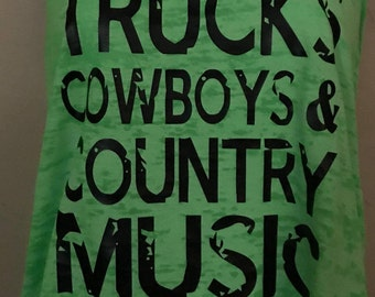 Country Life - Trucks, Cowboys, and Country Music Shirt