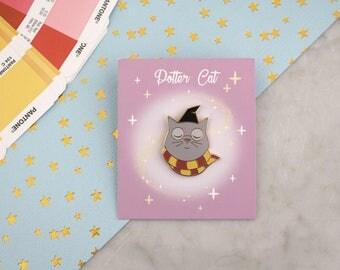 Potter cat badges