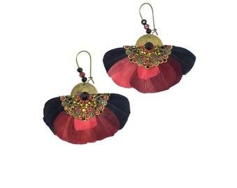 """Earrings """"Butterfly"""""""