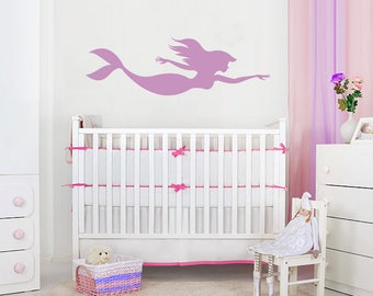 Baby Girl Wall Decal Etsy - Wall decals nursery girl