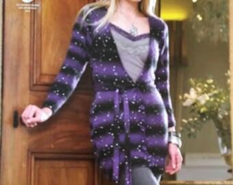 Cardigan and Sweater Knitting Pattern, King Cole Knitting Pattern, Ladies Childrens Cardigan, Ladies Childrens Sweater, King Cole No. 3671