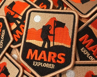 NASA patch / Space patch / Iron on patch for backpacks, jackets / Iron-on patches