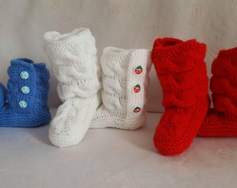 SALE!!! Pay two pairs of booties- take three, booties - three pairs for the price of two, handmade, winter fashion, warm, soft, slippers