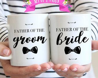 Father of Bride and Groom Gifts, Wedding Gift Ideas for Parents, Father of the Bride, Father of the Groom, Wedding Mug
