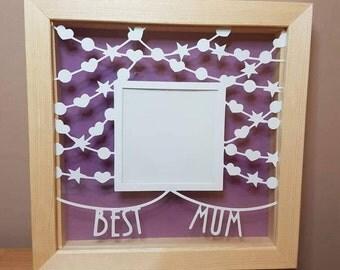 Best Mum Photo Frame, Best Mum Present, Mum Gift, Mum Christmas Gift, Mothers day gift, Mum Frame, Gift for Mum, Mum Birthday Gift