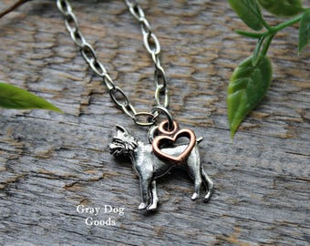 Boxer Necklace, Boxer Jewelry