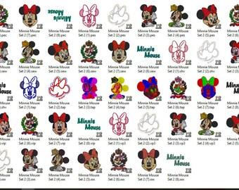 Disney's Minnie Mouse Embroidery Design Set 2