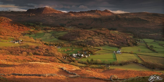 Harter Fell & Green Crag above Eskdale [Photographic Print]