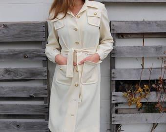 Stunning 1970s Cream Jacket