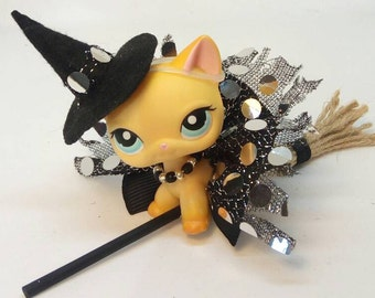 Littlest Pet Shop LPS custom wizard clothes outfit accessories lot * cat not included