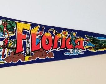 Florida - Vintage Pennant