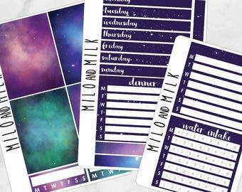 Galaxy Kit | Bullet Journal + Planner Stickers