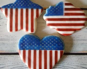 Memorial Day/Patriotic Sugar Cookies