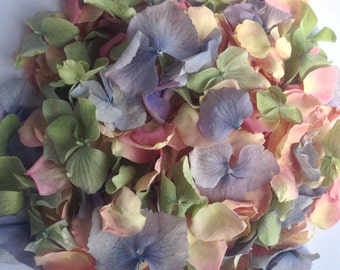 Natural biodegradable petal confetti