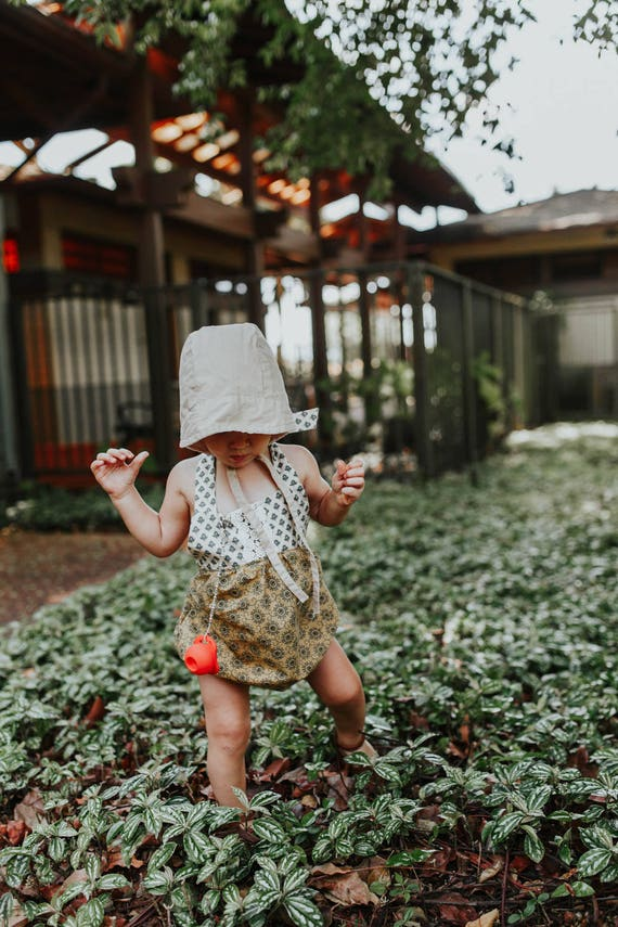 Floral Romper, Boho Romper, Toddler Fall Outfit, Bubble Romper, Boho Chic Romper, Playsuit, Coming Home Outfit, Fall Outfit,Fall Baby Shower