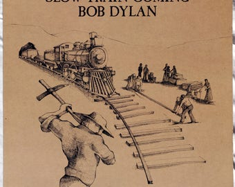 Bob Dylan - Slow Train Coming - 1979 - Vinyl - FC 36120