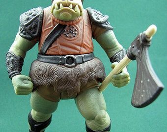 Gamorrean Guard Jabba's Palace 1997 Loose Complete Star Wars Action Figure 3.75""
