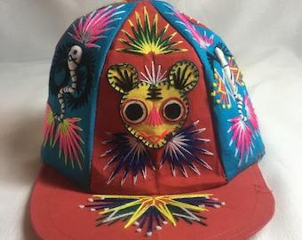 Vintage Handmade Baseball Hat