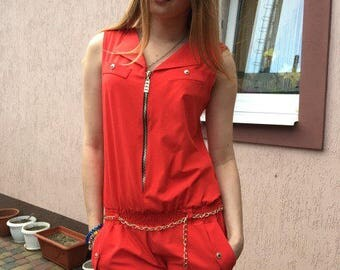 different colors Overalls K-8, female overalls, summer suit, sleeveless, trouser suit