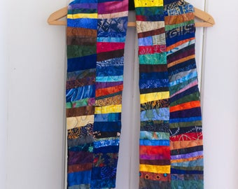 Quilted Art Scarf No. 3