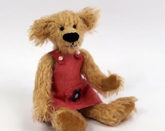June - handmade teddy bear
