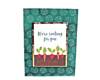 encouragement card, greeting cards, thinking of you card, just because card, floral card, friendship card, garden card, garden themed card,