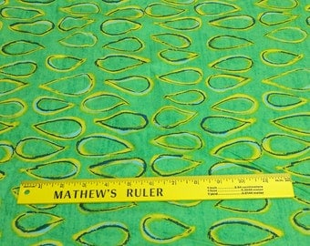 Riverwoods Collection-Color Matters-Green Drops Cotton Fabric from Troy
