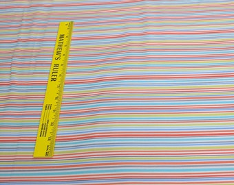 Mini Mikes-Slender Stripes Cotton Fabric from Michael Miller Fabrics